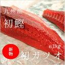 生 初鰹 カツオ 四分一 約1-1.5kg(豊洲直送)気仙沼産 他 豊洲直送 鮮魚【カツオ四分一】 冷蔵