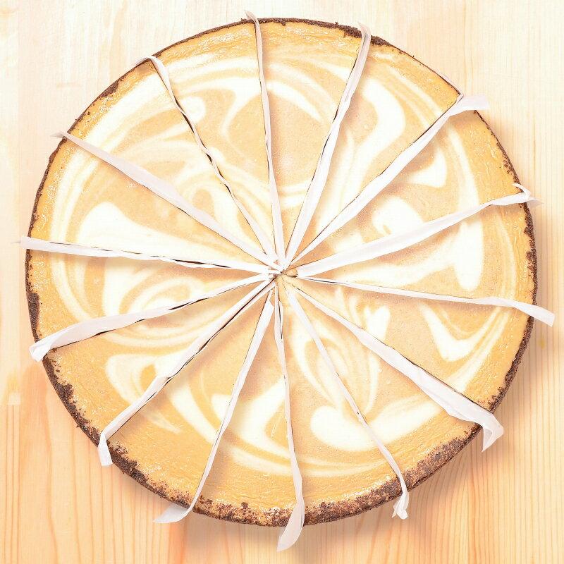 ニューヨークチーズケーキ カプチーノ ホール910g 14カット 直径約20cm 【NYチーズケーキ 冷凍スイーツ 冷凍デザート 冷凍ケーキ 洋菓子 業務用 バースデーケーキ 誕生日 母の日 クリスマス ギフト】【楽ギフ_のし】