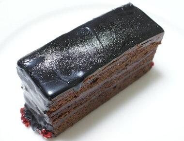 チョコレートケーキ×銀河