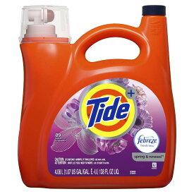 タイドプラスファブリーズ スプリングリニューアル 4080ml タイド洗剤にファブリーズの消臭・芳香効果をプラス! 送料無料