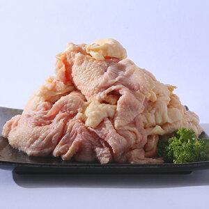 妻地鶏 鶏皮 1kg(冷凍)