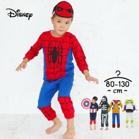 ディズニー コスチューム ウッディ ハロウィン 衣装 子供 トイストーリー4 キッズ ベビー 80 90 95 100 110 120 130cm ミスターインクレディブル バズ スパイダーマン Disney なりきり 上下セット 男の子 女の子 ベビー 仮装 赤ちゃん