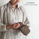 【P10倍】【20AW最新作】SLOW スロウ ingrasat neck wallet 財布 ネックウォレット ウォレット スマートウォレット SO750i black taupe…