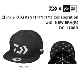 ダイワ 9FIFTY(TM) Collaboration with NEW ERA(R) DC-1108N ブラック フリーサイズ / 帽子 (D01) (O01)