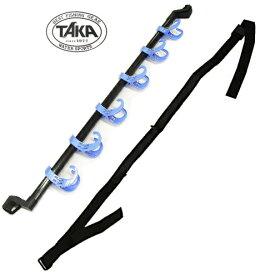 タカ産業 ロッドカーホルダー 2 A-0095 ブルー / 車内ロッドホルダー (セール対象商品)