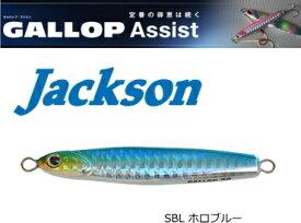 ジャクソン (Jackson) ギャロップ アシスト 20g #SBL ホロブルー / メタルジグ (メール便可) (O01) / セール対象商品 (6/17(月)12:59まで)