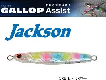 ジャクソン (Jackson) ギャロップ アシスト 40g #CRB レインボー / メタルジグ (メール便可) (O01)