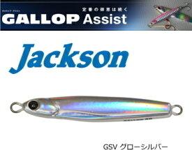ジャクソン (Jackson) ギャロップ アシスト 20g #GSV グローシルバー / メタルジグ (メール便可) (O01)