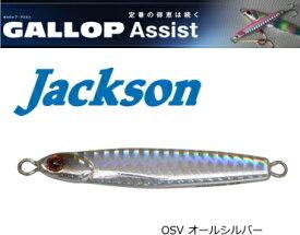 ジャクソン (Jackson) ギャロップ アシスト 40g #SV オールシルバー / メタルジグ (メール便可) (O01)