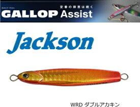ジャクソン (Jackson) ギャロップ アシスト 60g #WRD ダブルアカキン / メタルジグ (メール便可) (O01)
