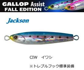 ジャクソン (Jackson) ギャロップ アシスト フォールエディション 20g #CIW イワシ / メタルジグ 【メール便発送】 (O01) (セール対象商品)