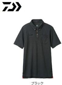 ダイワ 半袖ポロシャツ DE-6507 ブラック XL(LL)サイズ (O01) (D01) / セール対象商品 (6/26(水)12:59まで)