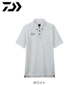 ダイワ 半袖ポロシャツ DE-6507 ホワイト XL(LL)サイズ (O01) (D01) / セール対象商品 (6/26(水)12:59まで)