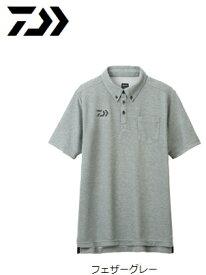 ダイワ 半袖ポロシャツ DE-6507 フェザーグレー Mサイズ (O01) (D01) / セール対象商品 (6/26(水)12:59まで)