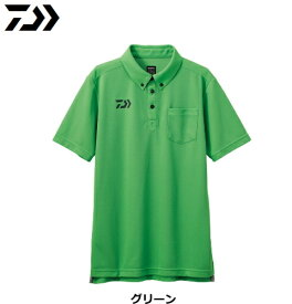 ダイワ 半袖ポロシャツ DE-6507 グリーン Lサイズ (D01) (O01) / セール対象商品 (6/26(水)12:59まで)