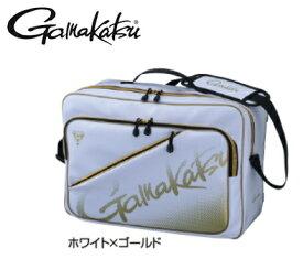 がまかつ 3WAYバッグ GM-3580 ホワイト×ゴールド / セール対象商品 (6/17(月)12:59まで)