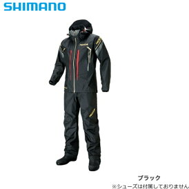 シマノ ネクサス(NEXUS) DS タフレインスーツ RA-124S ブラック Lサイズ / レインウエア 【送料無料】 (S01) (O01) (セール対象商品)