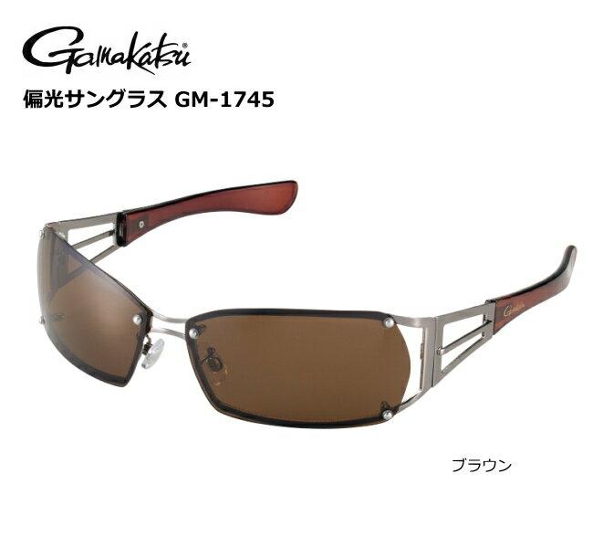 がまかつ 偏光サングラス GM-1745 ブラウン