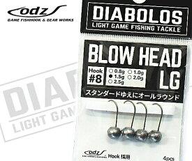 ディアボロス (DIABOLOS) ブロウヘッド LG KG-247 1.0g / ライトゲーム ジグヘッド SALE10 (メール便可) / セール対象商品 (9/24(火)12:59まで)
