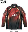 ダイワ DE-70009 スペシャル アイスドライ(R) ジップアップ長袖メッシュシャツ マグマブラック Mサイズ / ウエア (O01…