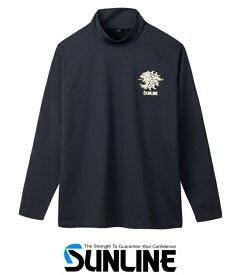 サンライン ボアストレッチハイネックシャツ SUW-5576HT Mサイズ / ウェア 【送料無料】 【セール対象商品】
