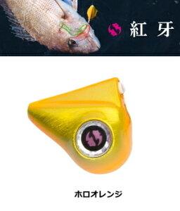 ダイワ 紅牙 ベイラバーフリー カレントブレイカー 80g ホロオレンジ (O01) / セール対象商品 (10/21(月)12:59まで)