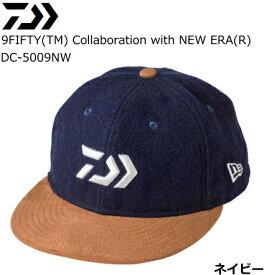ダイワ 9FIFTY(TM) Collaboration with NEW ERA(R) DC-5009NW ネイビー フリーサイズ / 帽子