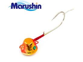 マルシン漁具 TRD一つテンヤ オレンジゴールド 8号 / 鯛ラバ タイラバ 【メール便発送】 【セール対象商品】