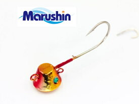 マルシン漁具 TRD一つテンヤ レッドゴールド 6号 / 鯛ラバ タイラバ 【メール便発送】 【セール対象商品】