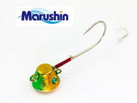 マルシン漁具 TRD一つテンヤ グリーンゴールド 3号 / 鯛ラバ タイラバ 【メール便発送】 【セール対象商品】
