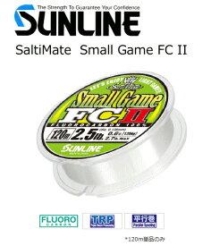 サンライン ソルティメイト スモールゲームFC II 240m 1.5lb(0.4号) (メール便可) / セール対象商品 (7/16(火)12:59まで)