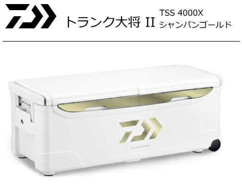 ダイワ トランク大将 2 TSS 4000X シャンパンゴールド / クーラーボックス