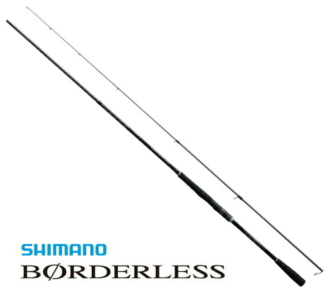 シマノ ボーダレス ショートスペック 260M-T / 振出万能竿