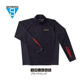 がまかつ アノラックジャケット GM-3652 ブラック×レッド LLサイズ 【送料無料】 【お取り寄せ】 【セール対象商品】