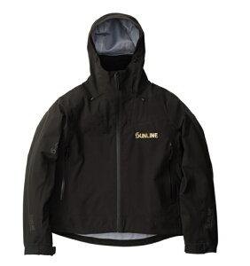 サンライン S-DRY 鮎ショートレインジャケット SUA-09202 ブラック 4Lサイズ 【送料無料】 【お取り寄せ】 【セール対象商品】