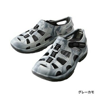 【シマノ】FS-091I エバマリンフィッシングシューズ グレイカモ 28cm