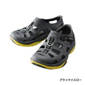 【シマノ】FS-091I エバマリンフィッシングシューズ ブラックイエロー 25cm