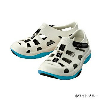 【シマノ】FS-091I エバマリンフィッシングシューズ ホワイトブルー 25cm