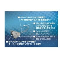 【釣研】オーシャンルーラー クレイジグ波動AJI 2.2g