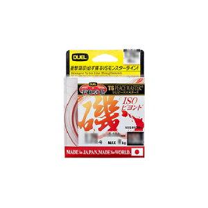 【 デュエル 】H3473 TGピースマスター磯 ビヨンド200M 5号 クリアオレンジ