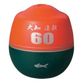 【 キザクラ 】03350 大知遠投 60(ロクマル) L 0.5 オレンジ