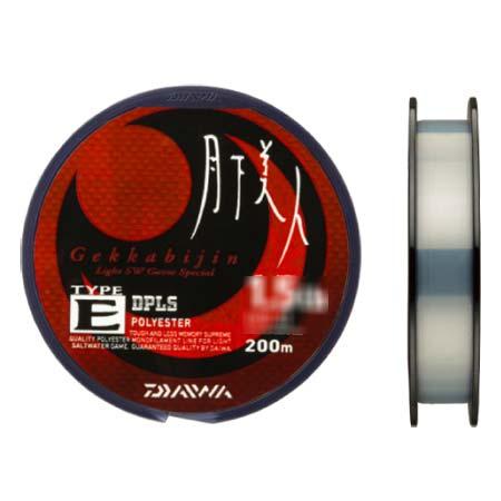 ダイワ (Daiwa)月下美人 ライン TYPE-E 1LB-200m