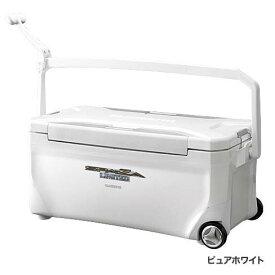 【シマノ(SHIMANO)】スペーザ リミテッド 350 キャスター HC-135M ピュアホワイト クーラーボックス