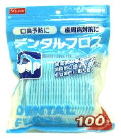 エムズワン デンタルフロス 【歯間清掃用】 (100本入)
