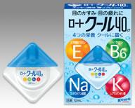 【第3類医薬品】ロート製薬 ロートクール40α (12ml) ツルハドラッグ