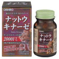 オリヒロナットウキナーゼ (60粒) ツルハドラッグ