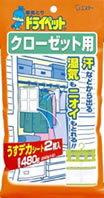 エステー 湿気とりドライペット 【クローゼット用】 (120g×2シート) ツルハドラッグ