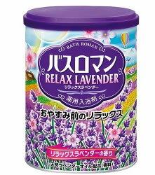 アース製薬 薬用入浴剤 バスロマン リラックスラベンダーの香り (680g) ツルハドラッグ