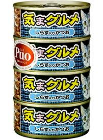 アイシア キャットフード 気まグルメ しらす入りかつお (155g×4缶) 一般食キャットフード ツルハドラッグ