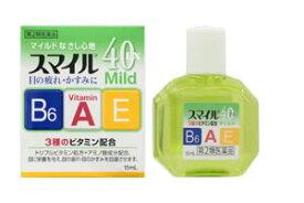 【第2類医薬品】ライオン スマイル40EXマイルド (15mL) 目薬 ツルハドラッグ
